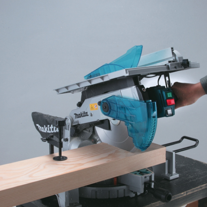 Makita lh1200fl table top miter saw 305mm 12 for 12 inch table saw blades